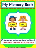 Grade Two Memory Book: Year End Review