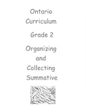 Grade 2 Number Sense Test (Ontario) Fosnot Organizing and Collecting