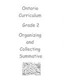 Grade 2 Number Sense Test (Ontario) Fosnot Organizing and