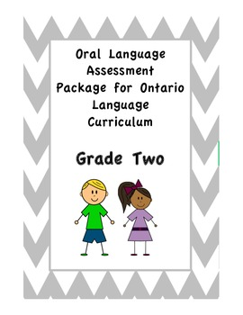 Grade Two Oral Language Tracking and Assessment