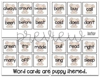 Grade Two Sight Word Bingo Activity {Class Set}