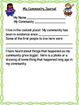 Grade Two Social Studies- Communities Unit 2