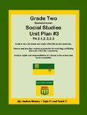 Grade Two Social Studies - Communities Unit 3