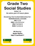 Grade Two Social Studies Communities Units 1-4 Bundled Set
