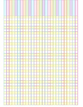 Grade book pages (Like Erin Condren)