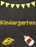 Grade level binder covers K-3