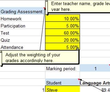 Easy to Use Gradebook