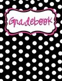 Gradebook Binder Cover & Spine Label
