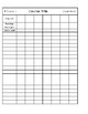 Gradebook Binder Sheets
