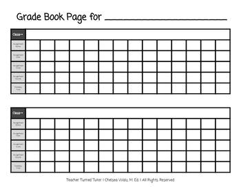 Gradebook Page