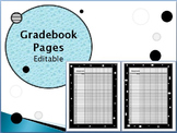 Gradebook Pages & Class Rosters - Great with Happy Planner