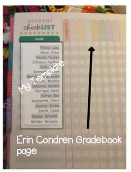 Gradebook Template