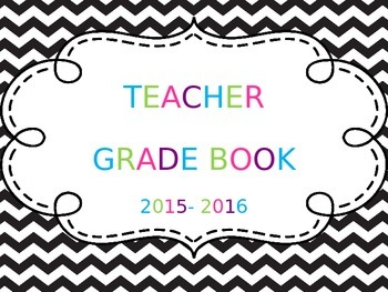 gradebook template excel by teaching in wedges tpt