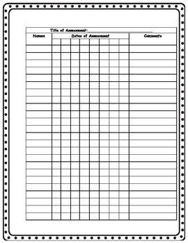 Gradebook Templates