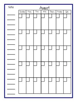 Lesson Plan Book and Gradebook- Nautical/anchor theme