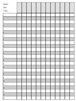 Gradebook and attendance