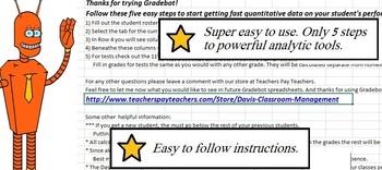 Gradebot Gradebook 2.0 Deluxe including Easygrader