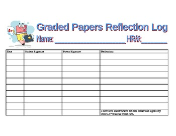 Graded Papers Log