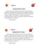Graded Work Folder