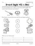 Grades 1-2 Language Arts Unit 7: Initial Consonant Blends