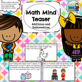 Grades 1-2 Math Word Problems Differentiated (Addition and