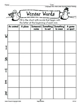 Grades 1-2 We Love Holidays! December Monthly Unit