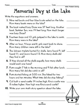 Grades 1-2 We Love Holidays! May Monthly Unit