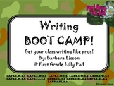 Grades 1-2 Writing Boot Camp: A Way to Teach Writing