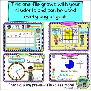 Math Calendar/Calendar Math... by Downeast Teach   Teachers Pay ...