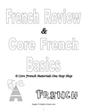 Grades 1-8 Core French Introduction to Basics & Review Booklets Bundle