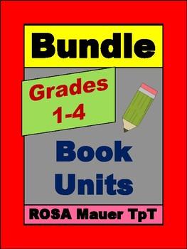 Grades 1 to 4 Book Unit Bundle