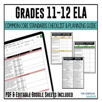11th grade classroom forms resources lesson plans teachers pay grades 11 12 ela common core checklist fandeluxe Choice Image