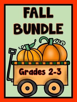 Fall Themed Bundle,  Grades 2-3
