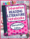 Reading Interactive Notebooks: Literature Grades 2-3
