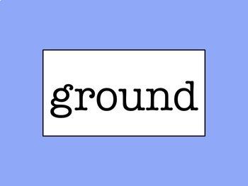 Grades 2-4 Word Wall - No Excuse Words Bundle