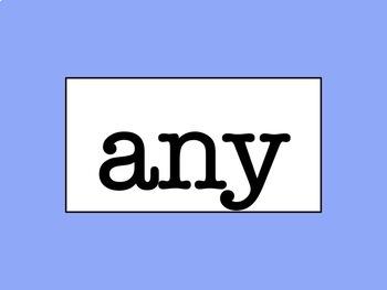 Grades 2 - 4 Word Wall - No Excuse Words Bundle (Editable)