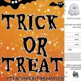 Grades 1-5  Vocabulary Worksheets with a Halloween Twist!