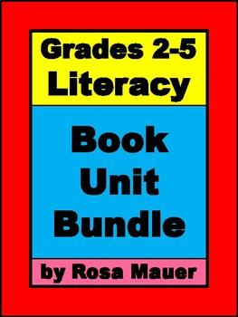 Grades 2-5 Literacy Book Unit Bundle