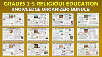 Grades 2-5 Religious Education Knowledge Organizers Bundle!