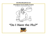 """Grades 2 - 5 Viruses Text """"Do I Have the Flu?"""" for Gifted and Talented Students"""