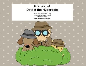 Grades 3-4  Detect the Hyperbole  Figurative Language CCSS