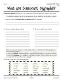 Grades 3-4 Language Arts Unit 4: Consonant Digraphs