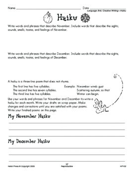 Grades 3-4 We Love Holidays! November Monthly Unit