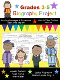 Grades 3-5 Biography Unit