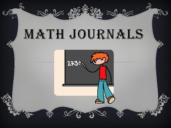 Grades 3-5 Common CoreMath Journals-Week 1