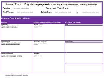 Grades 3-5 ELA AND Grades 4-5 Math Special Ed Interactive
