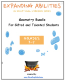 """3- 5 Grades: CCS: """"Geometry"""" for Gifted/Talented Students"""