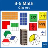 Grades 3-5 Math Clip Art