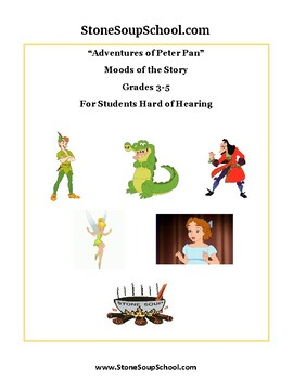 """Grades 3 - 5 """"Moods of Peter Pan"""" - Students with Hearing Impairments"""
