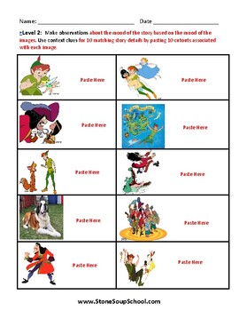 """Grades 3 - 5 """"Moods of Peter Pan"""" - Students with Visual Impairments"""
